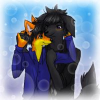 Crash and Buster--pts commish by LadySilvie
