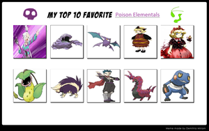 My 10 Favorite Toxic Terrors by pikaCOOL360