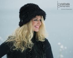 Victoria in the Snow I by ByteStudio