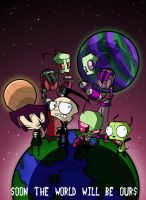 _.Invader Zim._ by Metros2soul