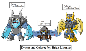 Fakemon: Vikings by Brian12