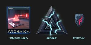 Archaica - Trading Card, Badge and Emoticon by MarcinTurecki