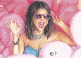 Selena Gomez by VictoriaSh