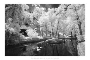 Bran Castle Park IR - I by DimensionSeven