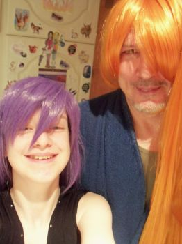 Me and My Dad x by badromance123