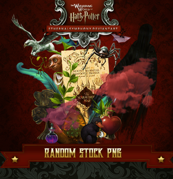 Harry Potter Stock Pack PNG by EthernalSymphony