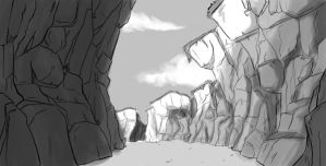 Canyon rought by Beatrix-soleneg