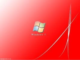 Windows 7 Red by A-K207