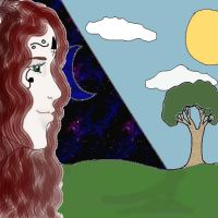 Amrie The Moon and The Sun by AmaranthBlacktree