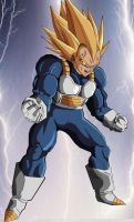 Meet Super Vegeta by eggmanrules