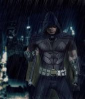 Batman: Arkham City - [Robin] by geekyglassesartist