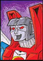 Starscream sketch card by PlummyPress