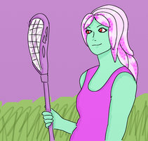 Scary Camp Day 13: Playing Lacrosse by sunnygirl979