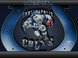RUNNING BACK,COLTS by graffitimaster