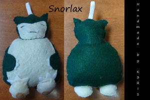 CO: Snorlax Ornament by K3RI1