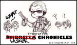 RE Funnies 4: Wesker Luv by I-heart-Link