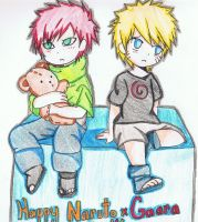 HAPPY NARUTO X GAARA DAY!!!! by KingofBeastsGrimmjow