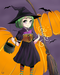 Happy Halloween! 2014 (Speedpaint Vid in Desc) by jecca-zn