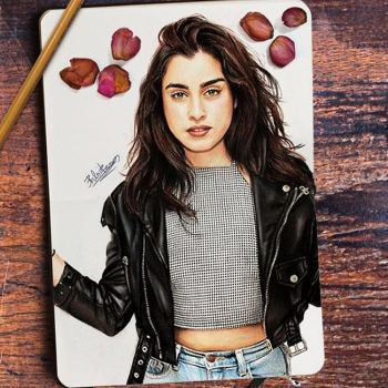 Lauren Jauregui drawing by BabiRamos
