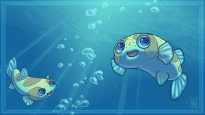 Puffers by KaceyM