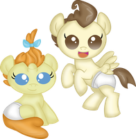 Baby Ponies by Rayodragon