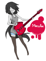 marceline! by CroxxerJL