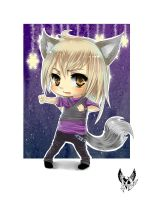 Chibi commission for Kimmy-tya by Mariko-chan94