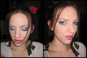 With Pink Lips by AmandaBelle