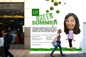 Outdoor Advertising Street by Eyth