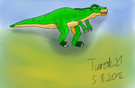 First Painting with Cintiq 21UX by Turok21