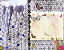 Card Drippy Skies And Butterflies (2) by katiejuby