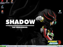 Sonic Riders 2:Shadow by ShadowXRougeRULES