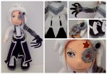 Allen Walker Posable Plush - D.Gray-Man by FlyingRabbitMonkey