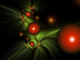 Fractal Holly by CassiopeiaArt