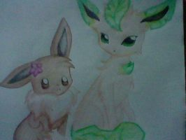 Leafeon!! by AnaChan97