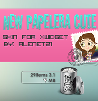 New Papelera  skin for xwidget by alenet21tutos