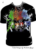 castle crashers shirt 2 by ProsaicProtrusion