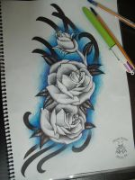 Flores by afonsotattoo