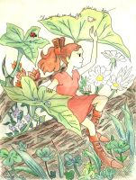 Arrietty, the borrower by Alexlemenestrel