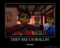 They see us rolling by Lincelot1