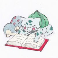 Bulbasaur and Cyndaquil by Dream--scape