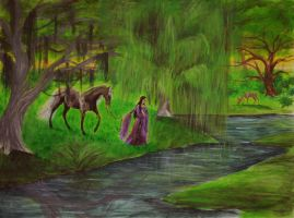 Willow Stream by SerenityStudios