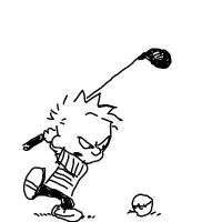 Calvin and Hobbes by webscripter