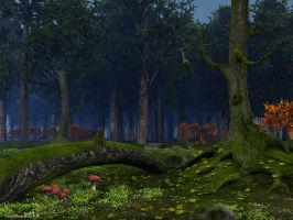 In the forest silence by slepalex
