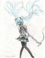 Hatsune Miku Append Solid by featherpenguins