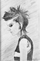 The Girl with the Dragon Tattoo - Rooney Mara by DawnsLaugh