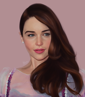 Emilia Clarke by ruthieee