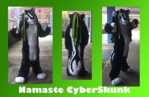 Namaste Cyberskunk by CKK-Productions