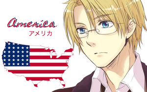 Hetalia: America fan Wallpaper by Nightout6