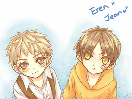 Little Jean and Eren by Fuki03